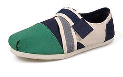 Неплохой вариант TOMS яркие мокасины для сменной обуви внуку в лицей