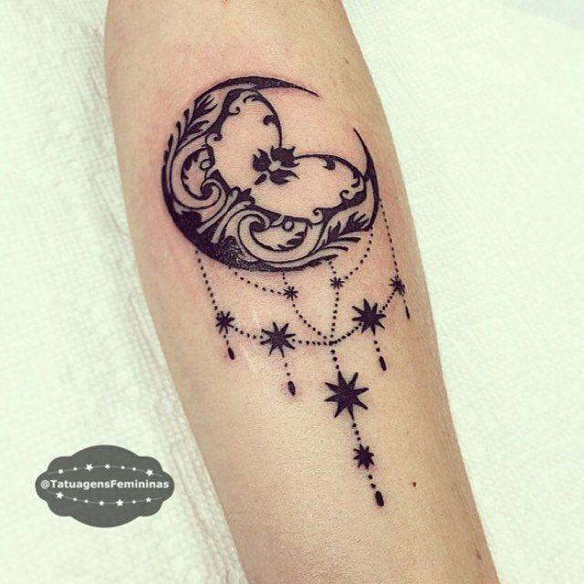 Lua ornamental nspira o nspiration tattoo for Goodnight moon tattoos