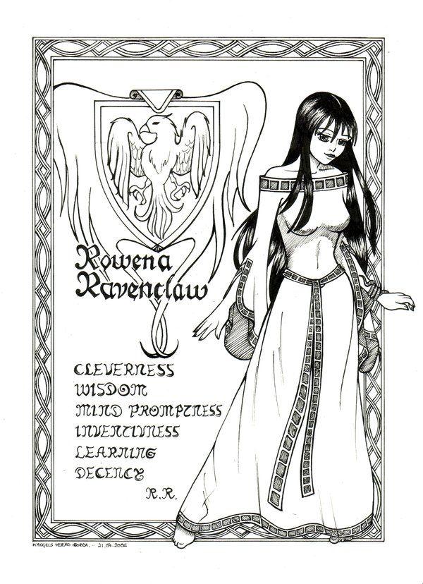 Rowena Ravenclaw By Shyangell On Deviantart Harry Potter