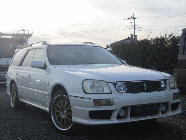 1996 Nissan Stagea 4wd Rs Four V Wgnc34 Rb25det Auction Grade 3 Jdmbuysell Com Nissan Jdm Cars V Engine