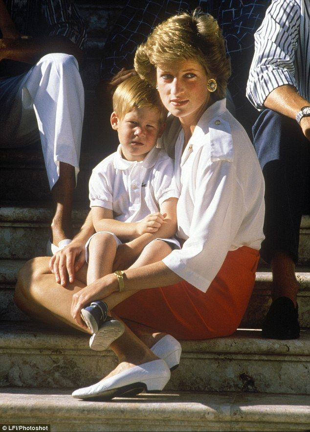 Rumours about the paternity of Prince Harry  angered Diana greatly and persist to this day, almost 19 years after her death