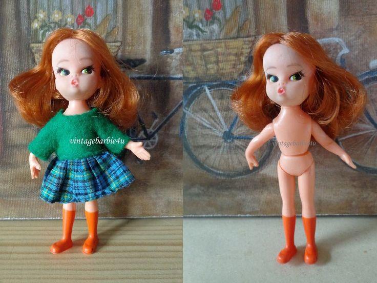 Vintage Hasbro Dolly Darling Titan TNT Doll Hong Kong RARE  #Hasbro #DollswithClothingAccessories