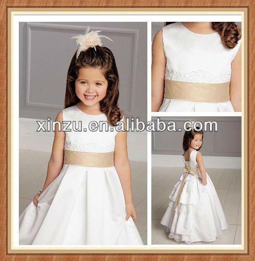 Белое платье для девочки крючком Ниткой - вязаные вещи для вашего дома, вязание крючком, вязание спицами, схемы вязания