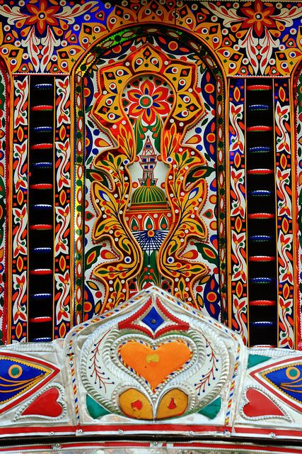 Truck Art and Religion #pakistan @Af's 22/1/13