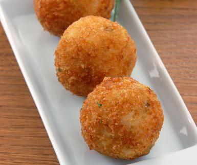 Sauerkraut, Ham, Onion and Garlic Rolled Into a Ball: Deep-Fried Sauerkraut Balls