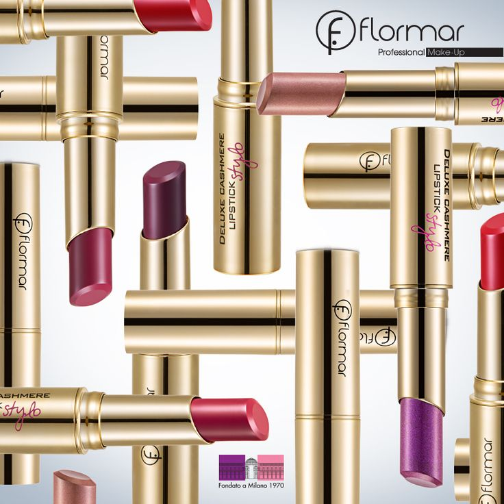 DELUXE CASHMERE LIPSTICK STYLO http://www.flormar.com