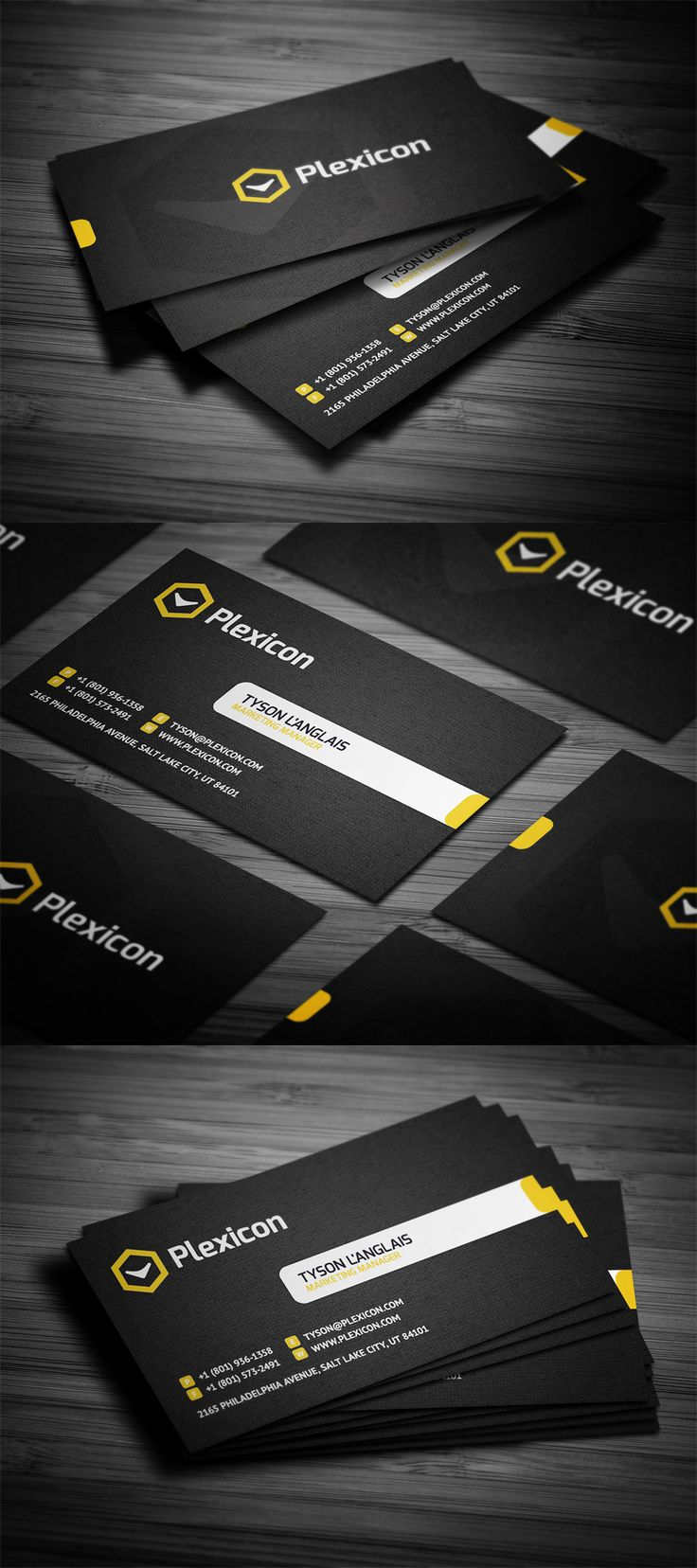 50 creative corporate business card design examples part 2 business card business card business card corporate business card corporate business card - Graphic Design Business Ideas