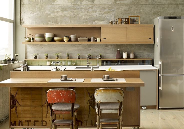 japanese kitchen ...simple, retro, and modern