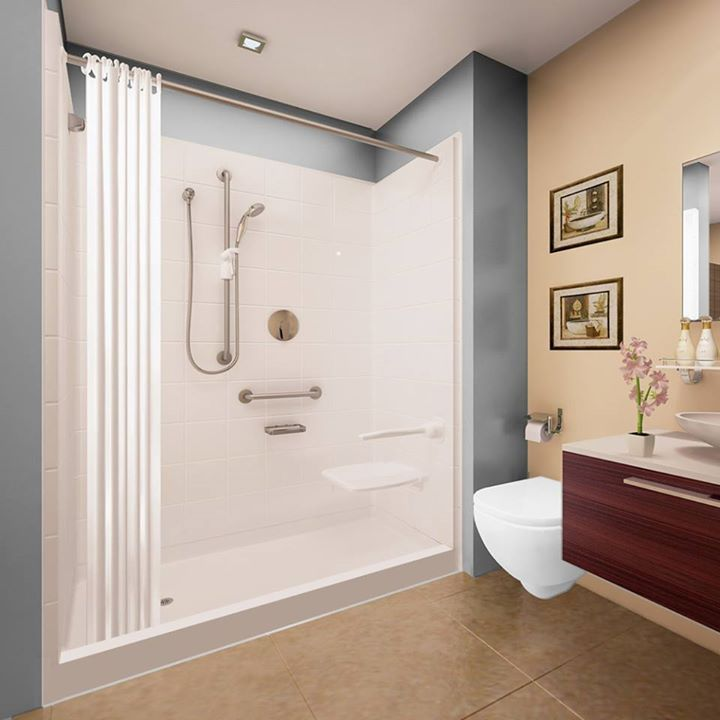 gelcoat shower stalls u0026 kits all the ella gel coat accessible shower stalls as we