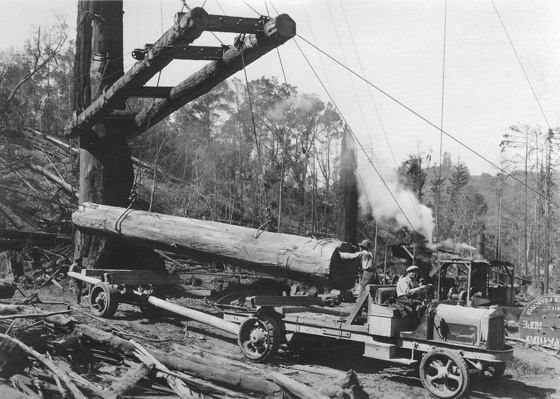 Vintage redwood sawmill pictures photos
