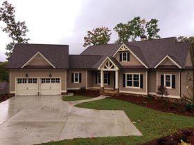 Craftsman Farmhouse House Plan 50257 Elevation