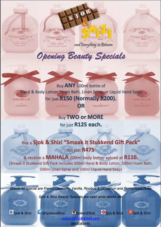 Opening Beauty Specials