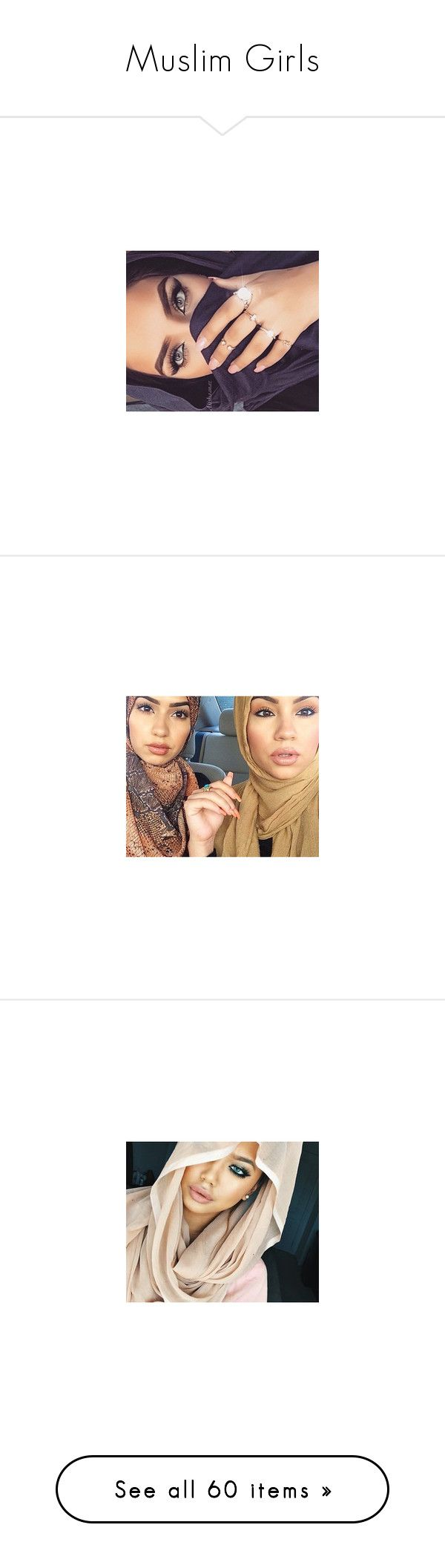 """""""Muslim Girls"""" by queenbaddiie ❤ liked on Polyvore"""