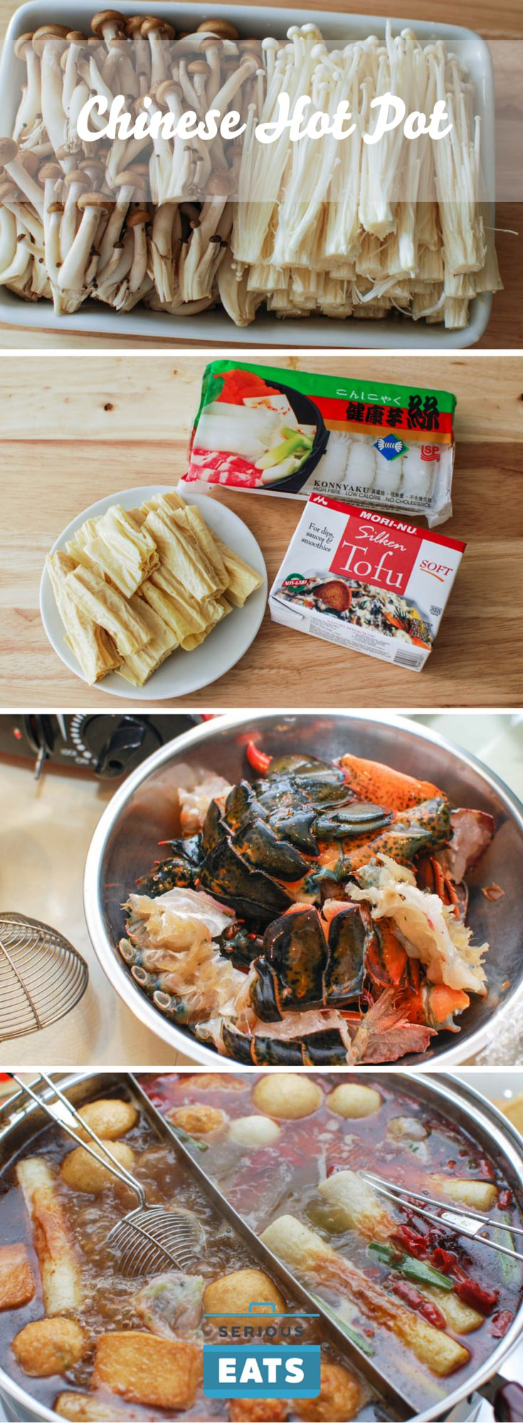 Making hot pot at home is easy.