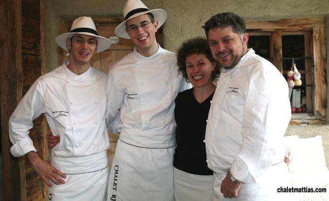 Lavorare con lo Chef Stellato Mattias a Livigno