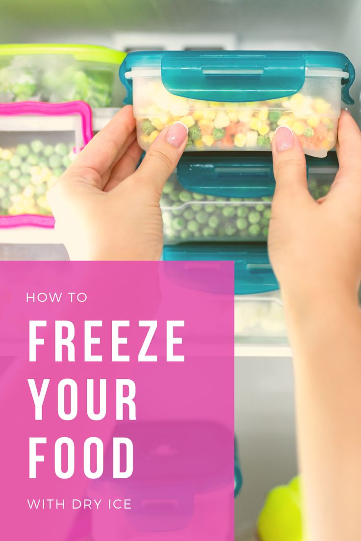 Freeze Your Food with Dry Ice in 2020 Dry ice, Sending