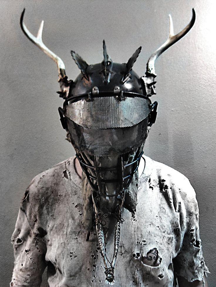 Post-Urban Shaman Mask by swanboy.deviantart.com on @DeviantArt
