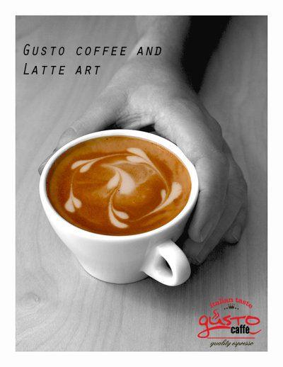Latte art #espresso #cappuccino  gusto late art