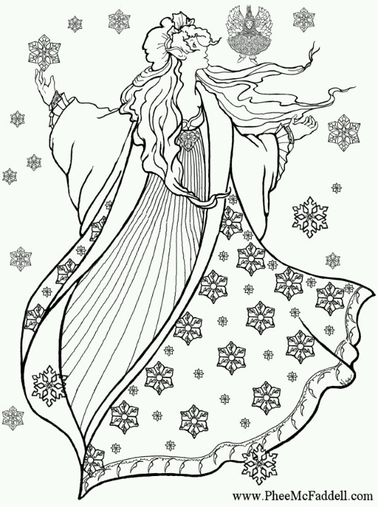 Phee McFaddell Artist free coloring page
