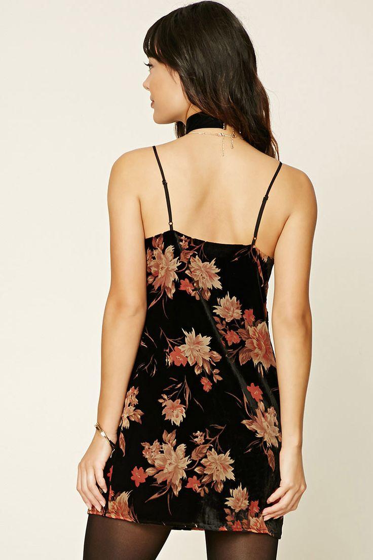 Contemporary Velvet Cami Dress | Forever 21 - 2000231562