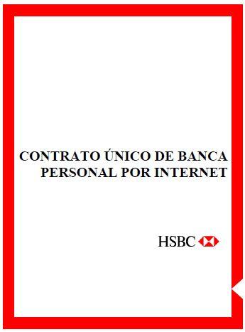 Contrato de Banca Personal por Internet - HSBC México