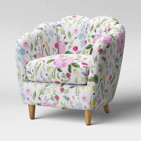 Waterville Upholstered Accent Chair Threshold In 2020 Upholstered Accent Chairs Accent Chairs Upholster