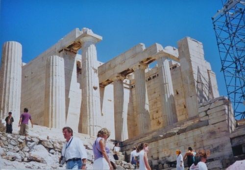 アルバム回想.76 ギリシャ2 アテネの街並み②(パルテノン神殿)
