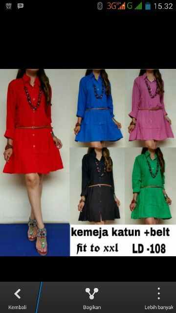 Olla dress matt rayon