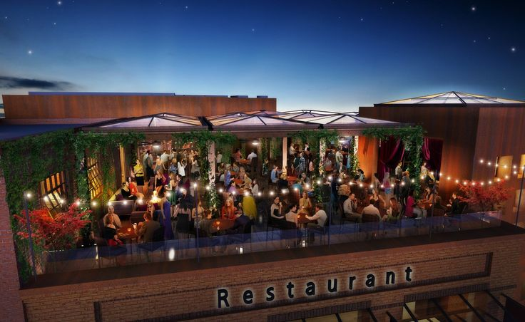 The Rooftop Restaurant and Bar in Walnut Creek, California