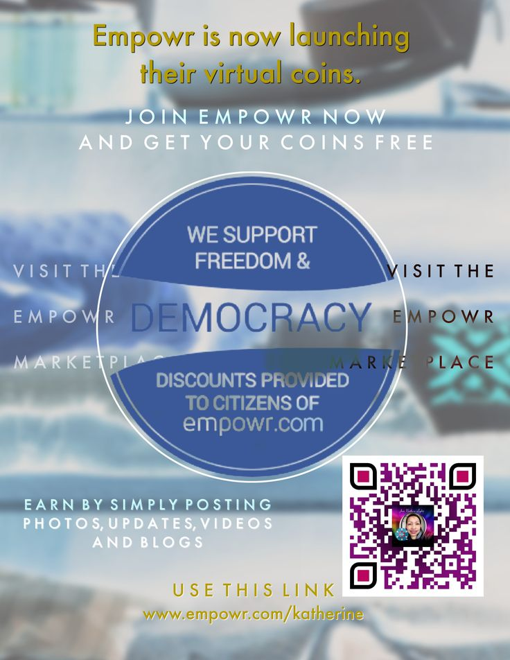 Join! and get your free coins from #Empowr. They will soon launching their #cryptocurrencies and you´ll get free coins when yo start now through my referral link.