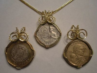 Wire Wrapped Coin Pendant or Key Chain Tutorial - The Beading Gem's Journal