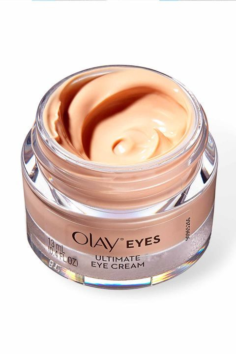 Does-It-All Eye Cream: Olay Eyes Ultimate Eye Cream ($24.99; at drugstores) has a universally flattering color-correcting tint to brighten dark circles and a peptide-rich formula to smooth fine lines and reduce puffiness. Click through to discover more of the best cheap makeup and drugstore beauty buys that fit your budget.