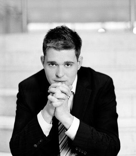 Michael Bublé...ah I LOVE him! He's my famous crush. Ah so cute(: