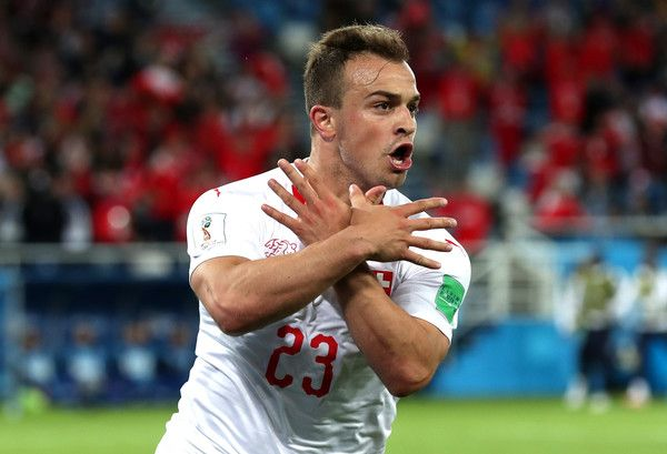 Xherdan Shaqiri Photos Photos Serbia Vs Switzerland Group E 2018 Fifa World Cup Russia In 2020 World Cup Trend Sport Sports