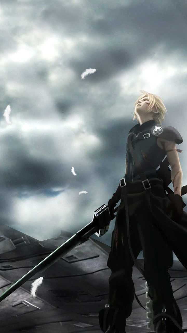 Final Fantasy 7 Remake Wallpaper Hd Phone Backgrounds Ps4 Game Art Poster Logo On Iphone Final Fantasy Vii Cloud Final Fantasy Cloud Strife Final Fantasy Cloud