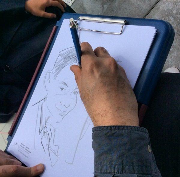 Intrattenimento al matrimonio. Un caricaturista per catturare immagini indimenticabili