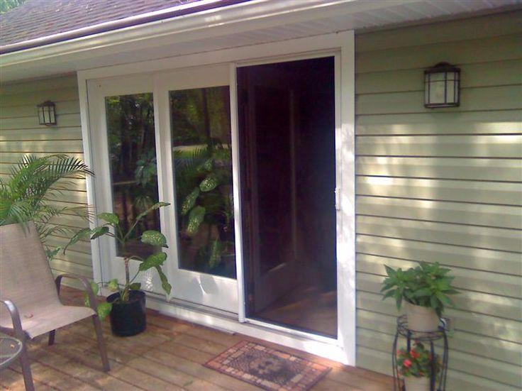 11 best screen doors images on pinterest screen doors phantom screens and retractable screen door for Phantom screen door cost