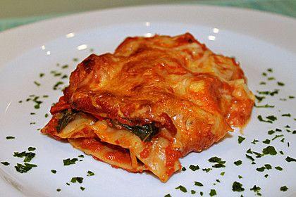 Mangold - Lasagne mit Schafskäse (Rezept mit Bild) | Chefkoch.de