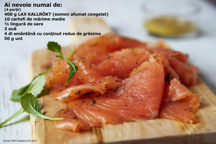 Somonul este un ingredient important în bucătăria suedeză. În plus este și ușor de gătit.