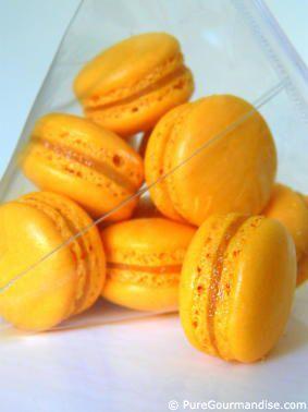 Macarons à la crème de calissons