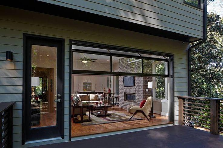 Garage Door Styles That Work Indoors Retractable Door