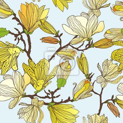 Väggdekor Blommor konsistens