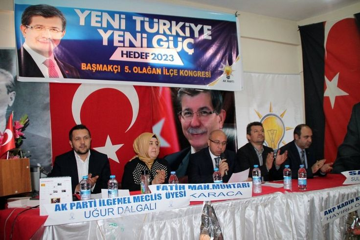 Ak Parti'de üç ilçede daha kongreler tamamlandı