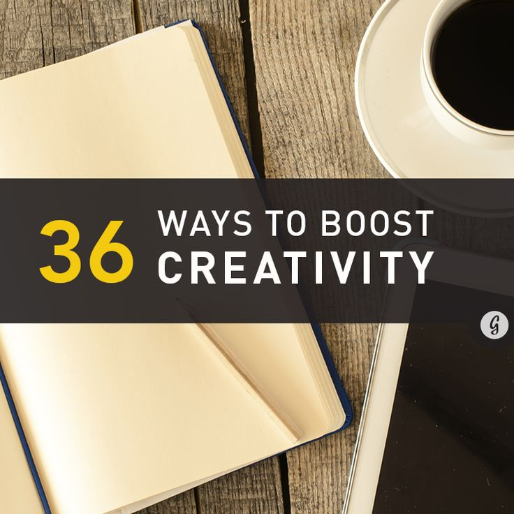 Find out how these and other tips help bring out our most creative selves.