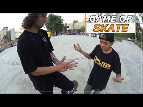 GAME OF SKATE, LUAN ARAGÂO VS DIEGO CUECA