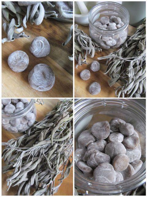 PASTU domov: Šalvějové bonbony při nachlazení a bolesti v krku