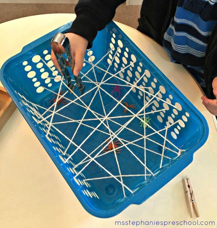 Halloween Activities in the Preschool Classroom - Practical Life Ms. Stephanie's Preschool