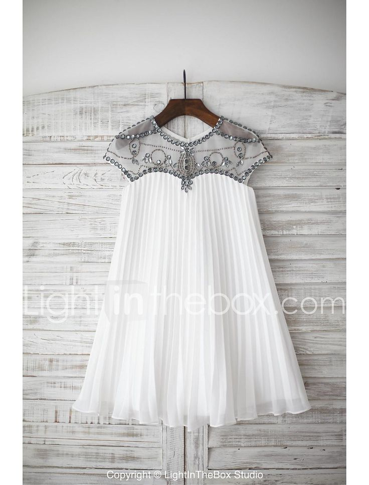 платье с длинным рукавом длиной до колен - платье из шифона 4454841 2017 – €63.29