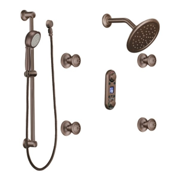 Moen IoDIGITAL Makes Creating A Truly Personalized Shower Or Bath Simple!