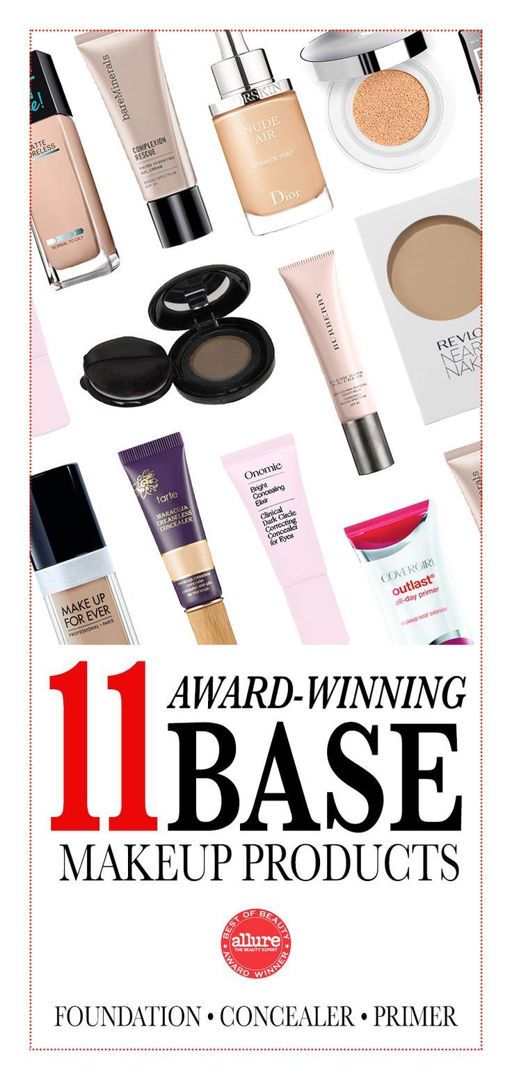 Best of Beauty 2015: Base -- These foundations, concealers, and primers cover up undereye circles, hide pores, and leave skin glowing. No Instagram filter necessary. | allure.com
